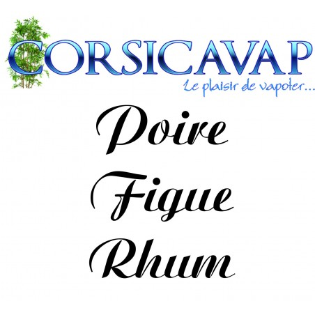 Poire Figue Rhum par Laurent A.